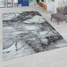 kurzflor teppich marmor design grau gold teppich kurzflor