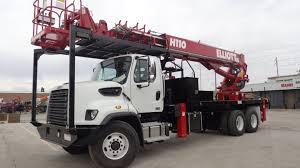 100 Sign Truck H110R HIREACH Elliott Equipment Company