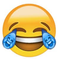 Crying Laughing Emoji Uploaded By Dopesmoker Emoticon Yellow Smile Smiley Product Icon