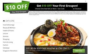 Groupon: Coupon Code For $10 OFF Your First Purchase Limited Time ...