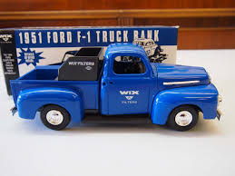Ertl Replica 1951 Wix Filters Ford Pick Up Truck W/ Box, Napa Auto ...