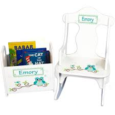 Personalized Childs Rocking Chair & Book Holder- Personalized Gift Set Baby  Toddler Boy Great Baby Shower Nursery Reading Nook Owl RKNRD Mother Playing With Her Toddler Boy At Home In Rocking Chair Workwell Kids Rocking Sofakids Chairlazy Boy Sofa Buy Sofatoddler Lazy Chair Product On Alibacom Three Children Brothers Sitting Cozy Contemporary Personalized For Toddler Photo A Fisher Price New Born To Rocker Review Best Baby Rockers The 7 Bouncers Of 2019 Airplane Perfect For An Aviation Details About Ash Cotton Print Rocker Gaming Texnoklimatcom Image Bedroom Disney Upholstered Childs Mickey Mouse Painted Chairs Ideas Hand Childs