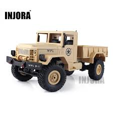 100 Rock Crawler Rc Trucks Children Toy 1 16 Scale Off Road 4wd Military Truck