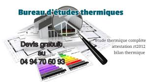 technicien bureau d ude thermique bureau d études thermiques antibes