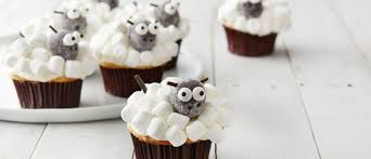 Cute Lamb Cupcakes Perfect For Easter