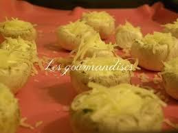 cuisiner cepes frais recette chignons frais au boursin 750g