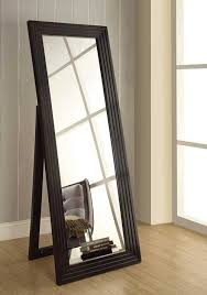 Contemporary Leaning Floor Mirror