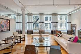 100 Lofts In Tribeca Former Commercial Space Is Now An Extravagant Modern Loft