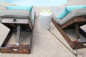 Outdoor Lounge Chair DIY