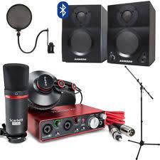 Focusrite Scarlett 2i2 Studio With Home Recording Kit GEN 2