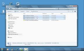 organisateur de bureau windows 7 comment créer un dossier et y déplacer des fichiers sous windows7