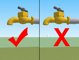 Fix Dripping Faucet Outside by How To Change A Washer On A Garden Tap With Pictures Wikihow