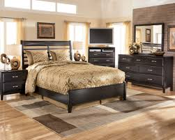 Porter King Sleigh Bed by Ashley Porter Bedroom Set Traditional Bedroom With Brown Porter