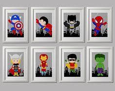 Superhero Room Decor Uk by Pick 6 Prints Super Hero Wall Art Boys Room Art Or Playroom Art 6