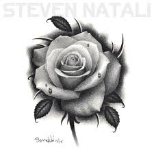 ERya4iE And Rose Drawing Tattoo