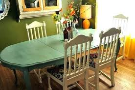 Painted Dining Room Table Ideas Awesome Painting