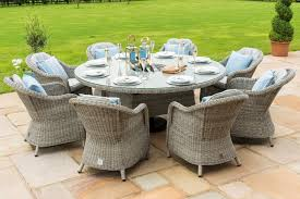 Maze Rattan - Oxford 8 Seat Round Dining Set With Round Chairs | The ... Shop Aleko Wicker Patio Rattan Outdoor Garden Fniture Set Of 3 Pcs 4pc Sofa Conservatory Sunnydaze Tramore 4piece Gray Best Rattan Garden Fniture And Where To Buy It The Telegraph Akando Outdoor Table Chair Hog Giantex Chat Seat Loveseat Table Chairs Costway 4 Pc Lawn Weston Modern Beige Upholstered Grey Lounge Chair Riverdale 2 Bistro With High Webetop Setoutdoor Milano 4pc Setting Coffee