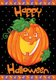 American Flag Pumpkin Pattern by Amazon Com Toland Happy Halloween Decorative Pumpkin Holiday
