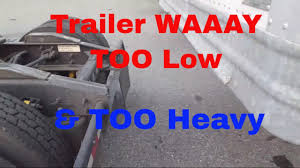 100 Viking Trucking 45K Loaded Trailer Too Low 2 Hookup Red Trucker YouTube