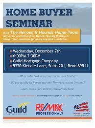 Home Buying Seminar Document