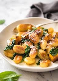 Japanese Pumpkin Salad Recipe by Pan Fried Gnocchi With Pumpkin U0026 Spinach Recipetin Eats