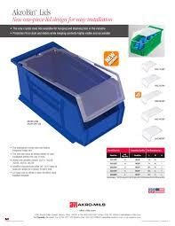 Akro Mils 26 Drawer Storage Cabinet by Akrobin Lid Akro Mils Pdf Catalogue Technical Documentation