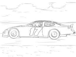 Click To See Printable Version Of Matt Kenseths NASCAR Car Coloring Page