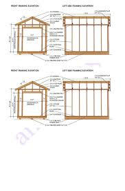 12 X 24 Gable Shed Plans by 12 X 8 Shed Plans Free