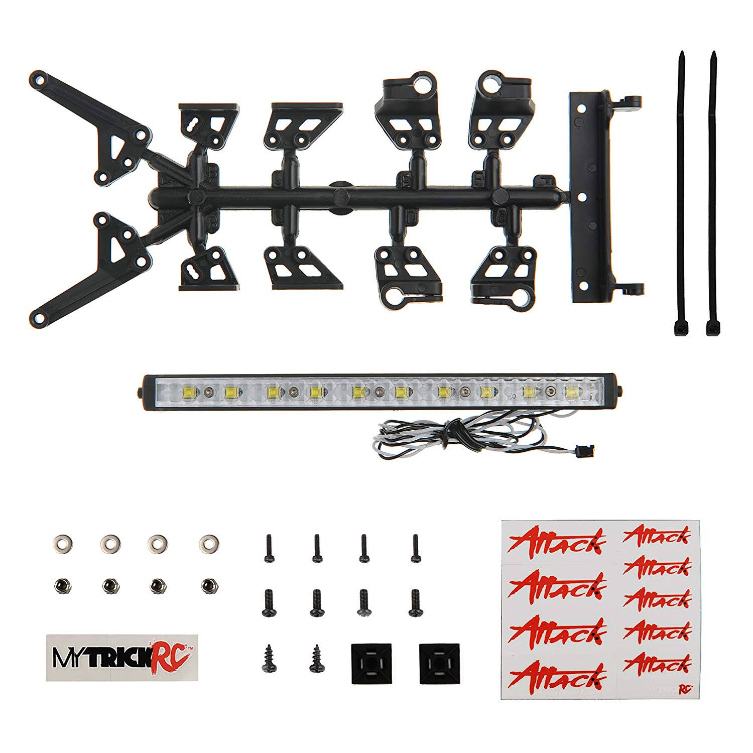 "6"" High Power Light Bar Kit - 1-6"" High Power Light Bar with FT3"