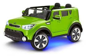 KidTrax Kia Sing-A-Long Soul 12 Volt Ride On - Green - Toys