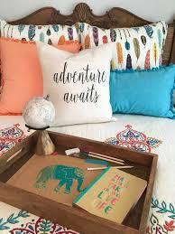 Stein Mart Chair Cushions by Boho Chic Teen Girls Room Makeover Adventure Awaits Memehill