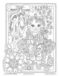 Ballet Creative Kittens Coloring Book By Marjorie Sarnat