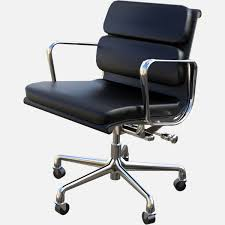 Eames Style Soft Pad Management Chair by Eames Aluminum Group Soft Pad Management Chair Free 3d Model