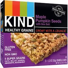Pumpkin Seeds Glycemic Index kind healthy grains dark chocolate whole grain clusters granola