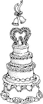 wedding cake icons