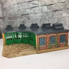 Tidmouth Sheds Wooden Roundhouse by Vintage Thomas U0026 Friends Wooden Tidmouth Shed Engine Roundhouse