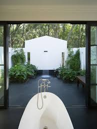 23 outdoor bathroom ideas to inspire your at home oasis