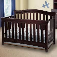 delta children bennington bell 4 in 1 convertible crib dark