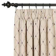 Geometric Pattern Curtains Canada by Pinch Pleated Drapes U0026 Curtains Wayfair
