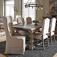 Grey Upholstered Dining Chairs With Nailheads by Dining Room Parsons Dining Chair Wingback Dining Chair Gray