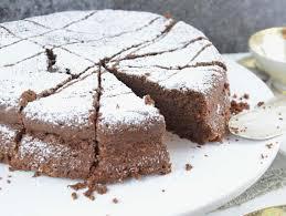 espresso schokolade kuchen ohne mehl