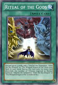 Slifer The Sky Dragon Deck Profile by Reducing The Number Of Tributes Required For Egyptian Gods