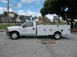 100 Ford F350 Utility Truck 2006 Dually Service Diesel Florida