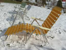 Vintage Aluminum Folding Lawn Patio Beach Chair Webbed White Plastic ... Stylish Collection Of Outdoor Chaise Lounge Chairs Sling Pair Of Lawn By Telescope Fniture Company For Sale At 1stdibs A Guide To Buying Vintage Patio Design Costco Beach Inspiring Fabric Sheet Chair Cheap Find Deals On Line Rejuvenate Metal 12 Steps With Pictures Table Clearance Big Home Depot Macram Blue White Retro Antique Knitted Bean Bag 56 Gliders 1000 Ideas About Details About 2 Vintage Sunbeam Matching Alinum Folding Webbed