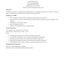 Resume Objective Examples Network Administrator Combined With Admin For Medical System Statement