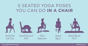 Chair Yoga Simple Easy Exercises
