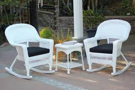 3-Piece Ariel White Resin Wicker Patio Rocker Chairs And Table Furniture  Set - Black Cushions - 31556328 Outdoor Wicker Chairs Table Cosco Malmo 4piece Brown Resin Patio Cversation Set With Blue Cushions Panama Pecan Alinum And 4 Pc Cushion Lounge Ding 59 X 33 In Slat Top Suncrown Fniture Glass 3piece Allweather Thick Durable Washable Covers Porch 3pc Chair End Details About Easy Care Two Natural Sorrento 5 Cast Woven Swivel Bar 48 Round Jeco Inc W00501rg Beachcroft 7 Piece By Signature Design Ashley At Becker World Love Seat And Coffee Belham Living Montauk Rocking