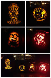 Joker Pumpkin Carving Patterns by Decorating Ideas Epic Image Of Lighted Lantern Spiderman Pumpkin