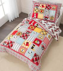Kid Kraft Fire Truck Toddler Bedding - 77003 | KidKraft Products ...