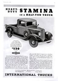 100 1936 International Truck Directory Index IHC Ads